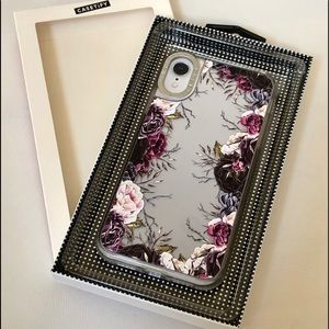 IPhone XR Case by Casetify Clear Floral